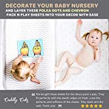 Cuddly Cubs Pack and Play Sheets Fitted – for