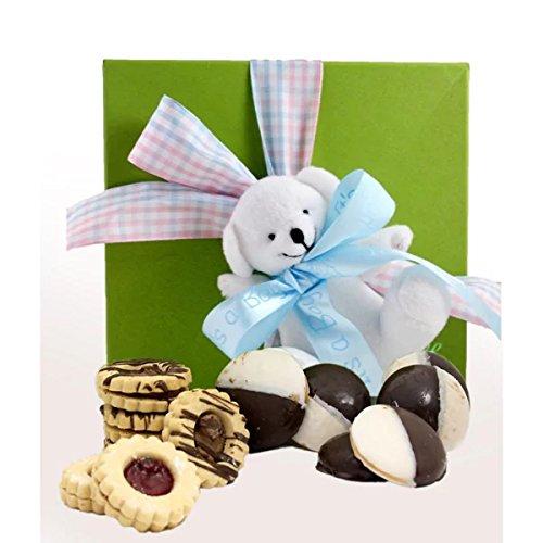 Gluten Free Gift Box, Medium, 1 pound,Gluten free, dairy free, nut free Kosher,Its a Baby Boy (Non Perishable Gift Baskets)