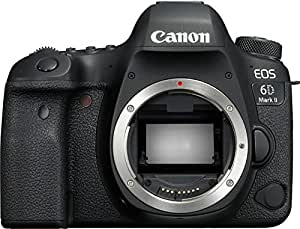 Canon EOS 6D Mark II body only Digital Camera - SLR(6DIIB) 3Inch Display,Black (Australian warranty)