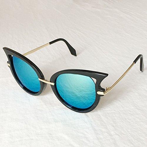 Gafas sol protección de la Las Gafas de Coreana señoras X562 la de Color Manera 6 de Ultravioleta Gafas 8 de protección sol 4IEOX