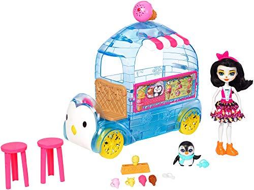 Enchantimals Preena Penguin Doll & Ice Cream Playset ()
