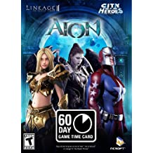PlayNC 60-Day Game Time Card (AION, Lineage II: The Chaotic Throne, & City of Heroes)