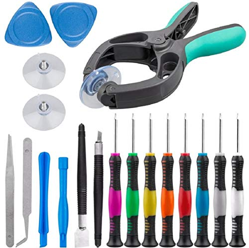 Boddenly Electronics Screen Opening Tool kit Cellphone Suction Cup Pliers Opening Repair Kit for Samsung Galaxy, Cell Phone, and More LCD Screen Opener, LCD Screen Opening Pliers Phone Repair Tool