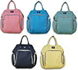 Jumping Daisy Large Baby Backpack Diaper Bag for