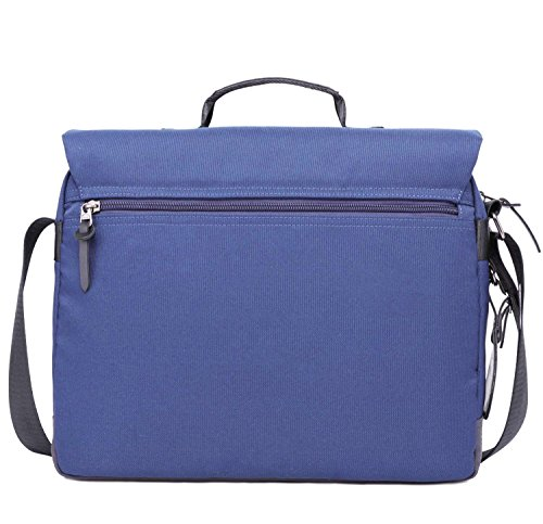 Abaría - Bolso mensajero del hombro maletín portátil,azul azul