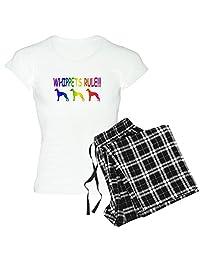CafePress - Whippet - Womens Pajama Set