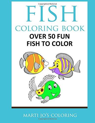 Fish Coloring Book Marti Jos product image