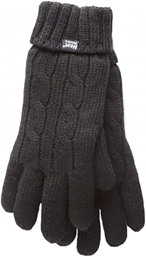 Heat Holders Damen Thermo-Winterm/ütze Gr/ö/ße 37-42 Halsw/ärmer und Socken Handschuhe