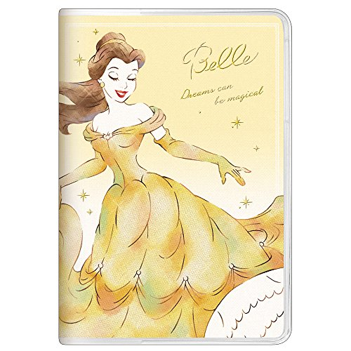 Disney Princess Bell Beauty & Beast 2018 Weekly Planner B6 size 49046
