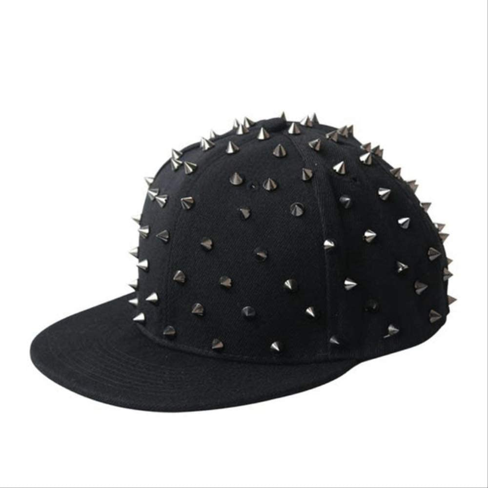 Adultos Hip Hop Punk Rock Spike Studs Remaches Gorros Snapback ...