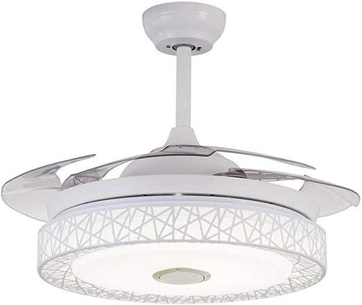 DM Bluetooth luz del Ventilador del Ventilador del Techo Luces de ...