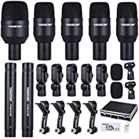 ammoon TAKSTAR DMS-D7 Drum Set Wired Microphone Mic Kit...