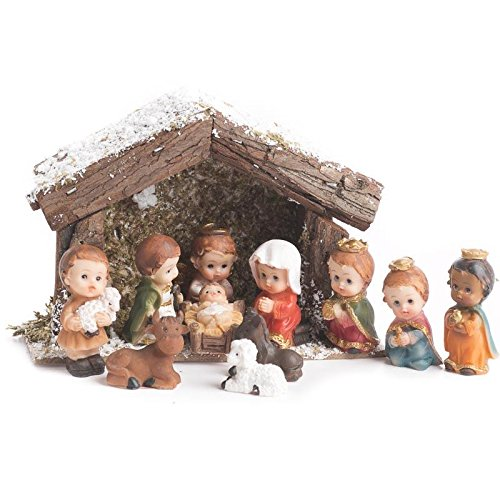 Factory Direct Craft Miniature Stable Set