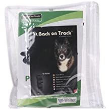 Back on Track 8-Inch Length by 7-Inch Top Width by 5-Inch Bottom Width Therapeutic Dog Rear Leg/Hock Brace with 4 Adjustable Velcro Straps, Medium