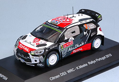 CITROEN DS3 R5 N.3 4th RALLY PORTUGAL 2015 K.MEEKE-P.NAGLE 1 43 - Trofeu - Auto Rally - Die Cast - Modellino