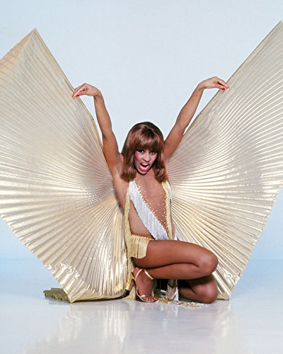 [Tina Turner Stunning With Gold Angel Wings Revealing Costume 16x20 Canvas Giclee] (Revealing Costumes)