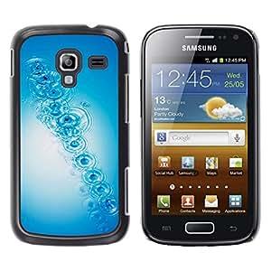 MOBMART Carcasa Funda Case Cover Armor Shell PARA Samsung Galaxy Ace 2 - Pebble Stones In The River