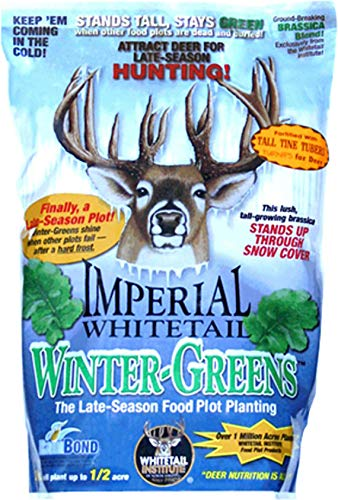 - Imperial Whitetail Winter-Greens-Fall Annual 3 lb. Deer Food