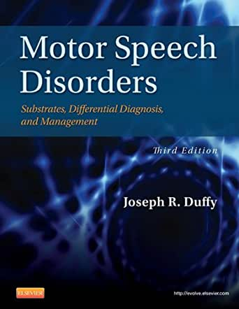 9780323072007: motor speech disorders: substrates, differential.