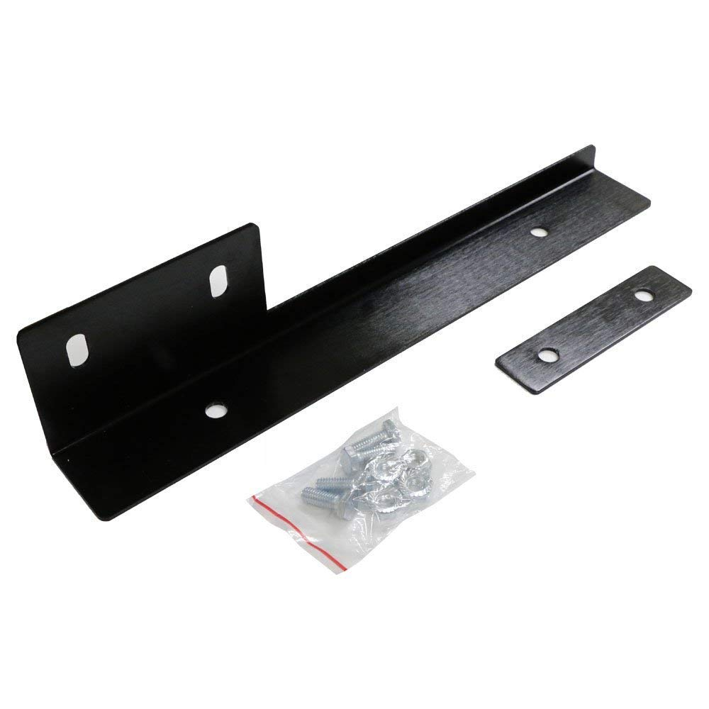 iJDMTOY JDM Silver Universal Fit Front Bumper License Plate Relocator Bracket Holder Bar