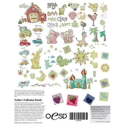 Amazon Baby Breedlove Oesd Embroidery Machine Designs Cd