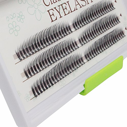 Scala Newest 120pcs 0.07mm B Curl 20 Roots Rainbow Professional Makeup Individual Cluster Eye Lashes Grafting Fake False Eyelashes 8-13mm Mix (8-13mm Mix)