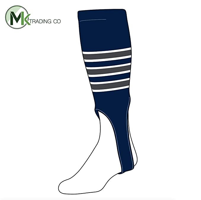 29561e271b79b Amazon.com: TCK Baseball Stirrups Large (300D, 7in) Navy, White ...
