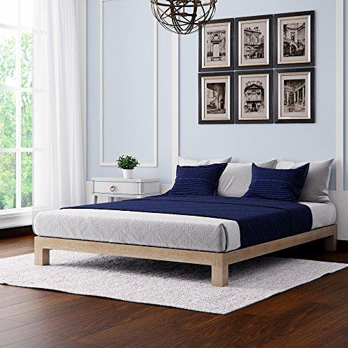 Home Modern Motif Design Aura Deluxe Bohemian Style Platform Bed - Gold Full