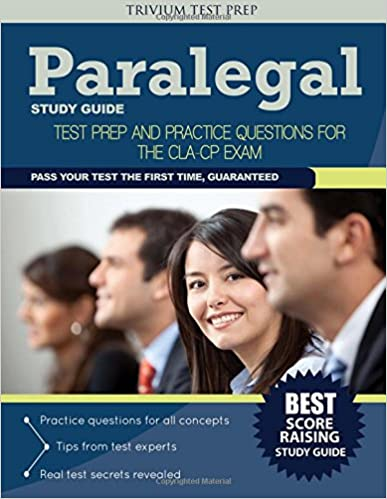 Paralegal Study Guide: Test Prep and Practice Questions for the ...