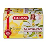 3x Teekanne Muntermacher (each box 20 tea bags)