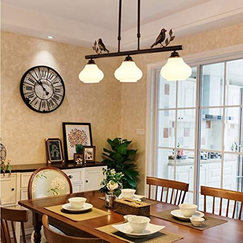 (CTO Gbyzhmh The Chandeliers Lighting Bird Village, Three Simple Minds Pendant Lamp, Dining Room Veranda Balcony Interior Lighting Lamp)