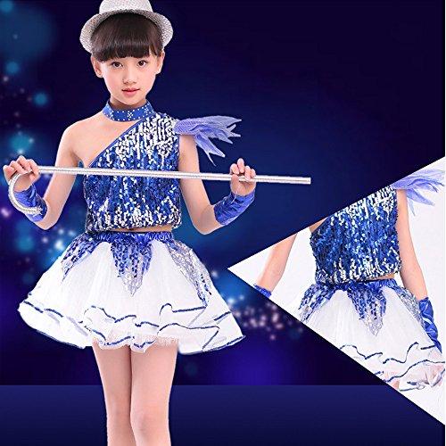 Amazon.com: ZEVONDA Boys & Girls Jazz Dance Sequin Modern Dance Performance Costumes: Clothing