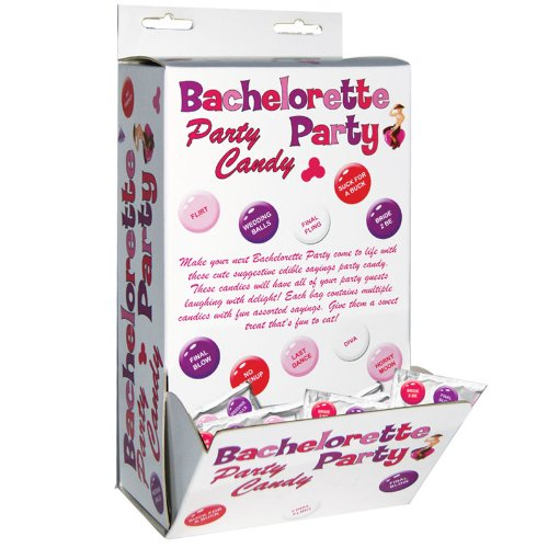 Bachelorette Party Candy (12/bag)(DP/50) ---(Package Of 2) by Hott Products Unlimited