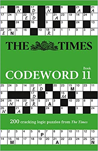 The Times Codeword 11: 200 cracking logic puzzles (The Times Puzzle Books)