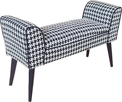 かわ畑 モダンテイストスツール 千鳥柄のベンチ椅子 1407STC001
