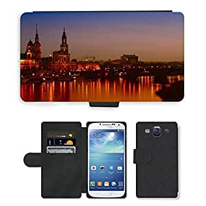 Hot Style Cell Phone Card Slot PU Leather Wallet Case // M00171264 Dresden City Frauenkirche Old Town // Samsung Galaxy S3 S III SIII i9300