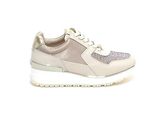 liu jo - Zapatillas para mujer dorado dorado dorado Size: 39: Amazon.es: Zapatos y complementos