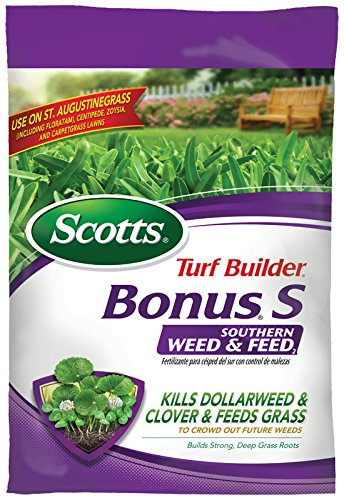 Scotts 3313B Select States Turf Builder Bonus S Southern Weed and Feed, 5000 sq. ft. (Sold, 5 M (Weed And Feed For St Augustine Grass)