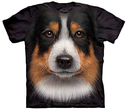 Animal T-Shirt - (Australian Shepherd) - Adult M