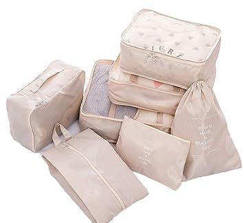 Sarazong 7 Set Cubos de Embalaje, organizadores de Embalaje ...