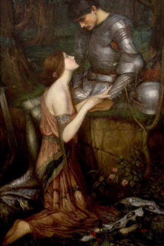 Read Online Lamia: Blank Journal; John William Waterhouse notebook / composition book, 140 pages, 6 x 9 inch (15.24 x 22.86 cm) Laminated pdf epub