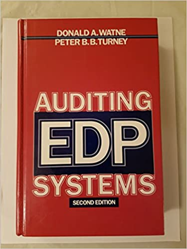 Book Auditing EDP Systems