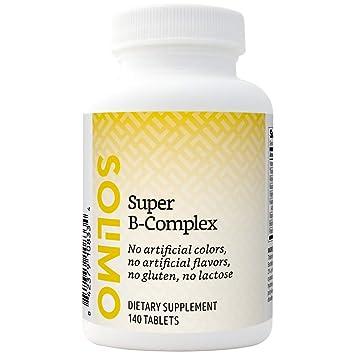 Amazon.com: Marca Amazon – Solimo Super B-Complex, 140 ...