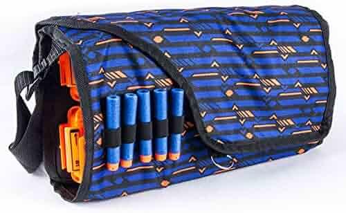 Bullet Storage Bags Multifunctional Large Capacity Bullets Storage Cross Body Bag For Nerf Gun Children Military Toy