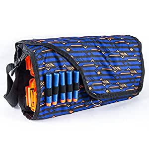 Ocamo Children Military Toy EVA Bullet Storage Bags Kids Tactical Equipment Gun Accessories Multifunctional Large Capacity Clips Pouch For Nerf Gun