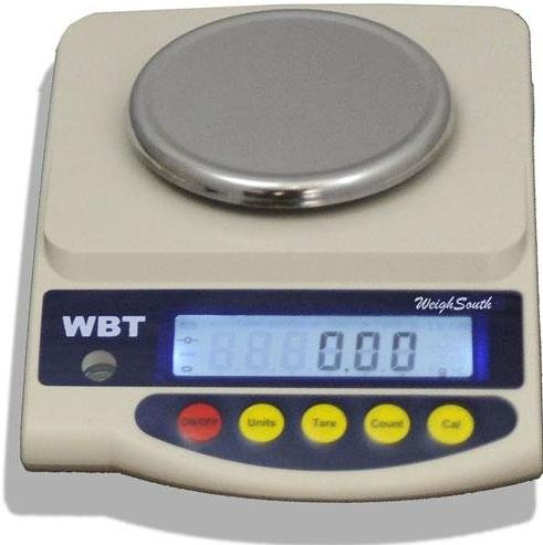 Weighsouth WBT-602 Precision Lab Balance 600 g x 0.01 g, Round Pan 5'',Jewelry Scale, New by Weighsouth