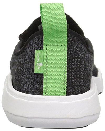 Sanuk Unisex Chiba Søken Strikke Sneaker Svart