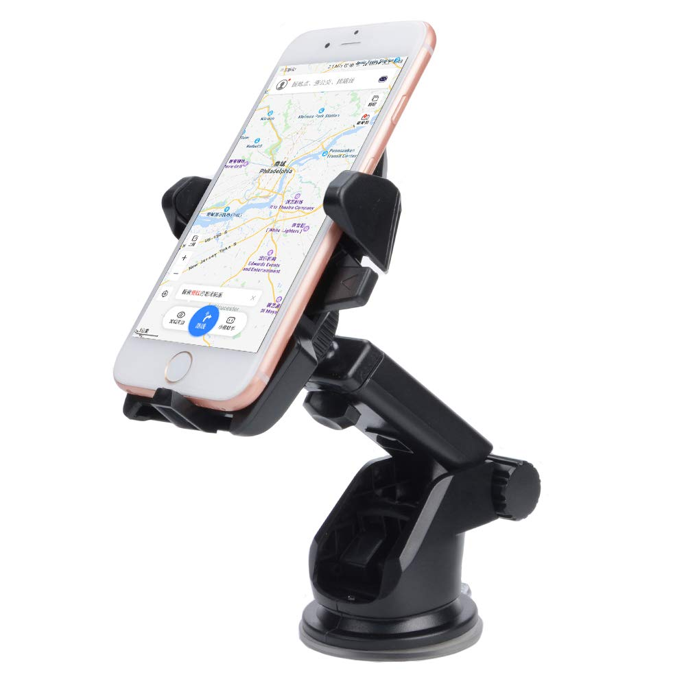 Google Nexus Huawei and More MOU8 4351507082 Arm Car Phone Holder,Long Neck Easy One-touch Car Mount for Cell Phone iPhone 6 7 8 Plus 6s 6 7 8 5S X 10 se,Samsung Galaxy S9 S9 Plus S8 Plus S8 Edge S7 S6 Note 8 5
