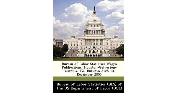 Bureau of labor statistics wages publications houston galveston