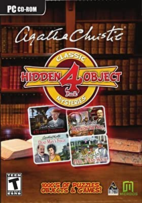 Hidden Object - Agatha Christie Mysteries - 4 Game Pack